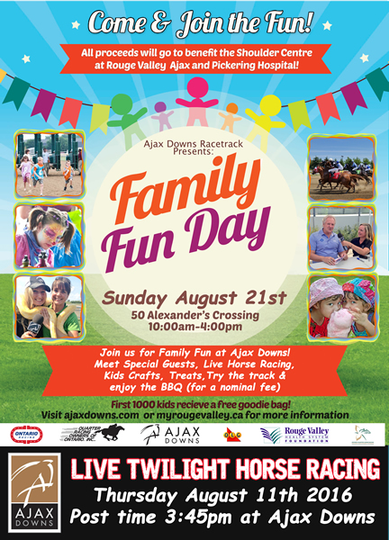 Qrooi in association with Ajax Downs Family Fun Day