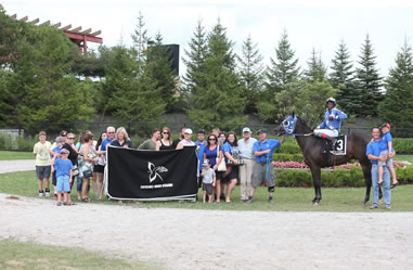 Congratulations to Marie and Bob Broadstock HOME TO VEGAS with jockey Tony Phillips for winning the 2016 Ontario Sires Stakes Futurity.