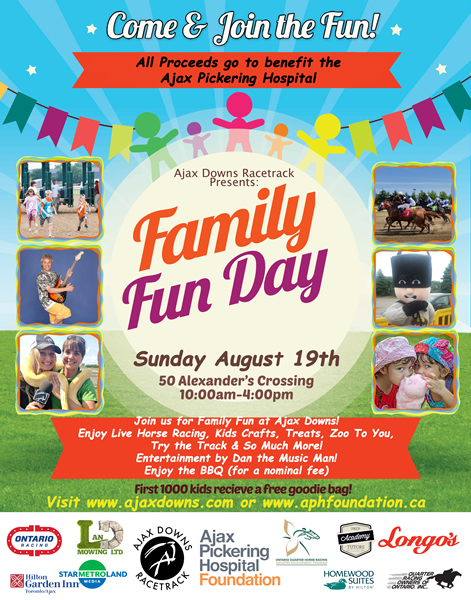 Ajax Down Family Fun Day 2018