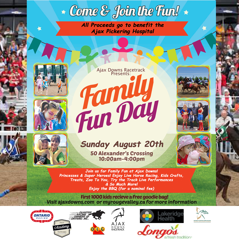 Ajax Downs Annual Fun Day August 20 2017