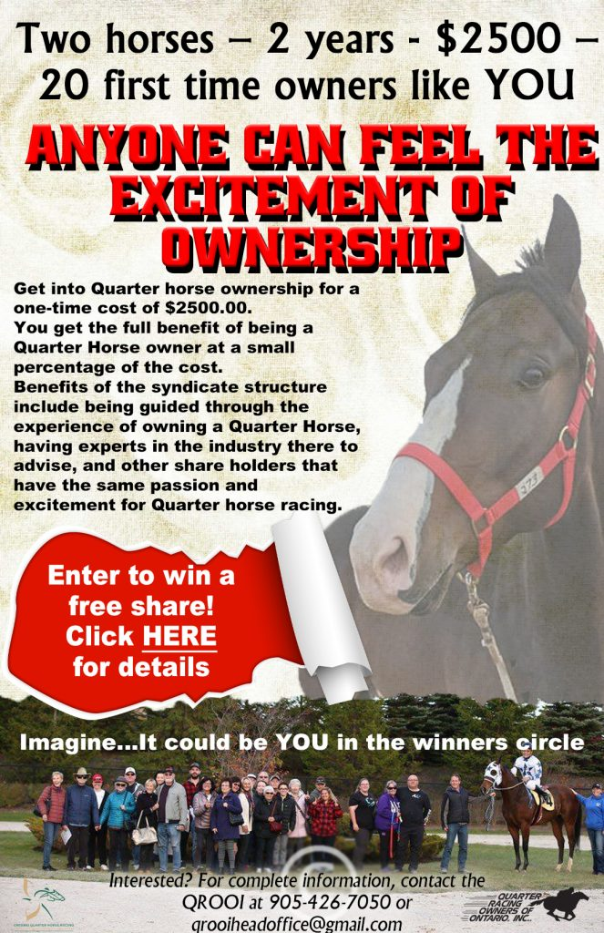 Enter to win a Free Share in FLR Syndicate
